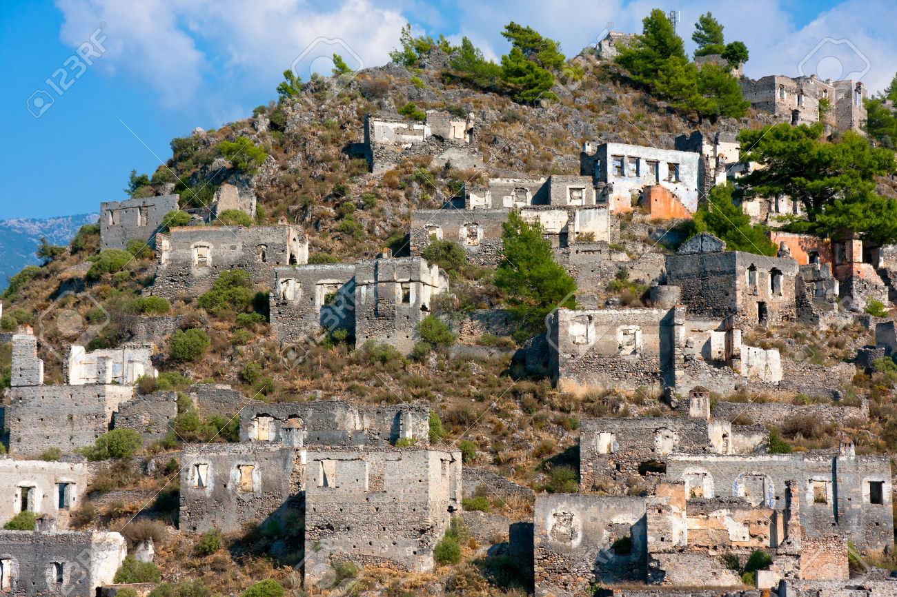 Kayak y ghost town and fethiye local market tour travel for Village town