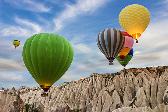 Hot-Air Balloon Ride-Cappadocia