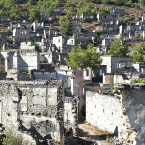 Kayaköy Ghost Town and Fethiye Local Market Tour