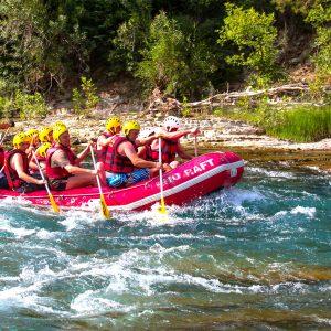 White Water Rafting Adventure on Dalaman River