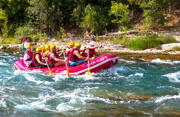 White Water Rafting Adventure on Dalaman River