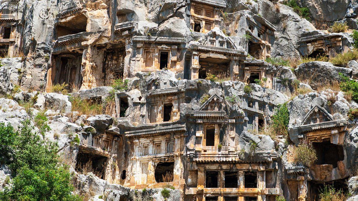 Antalya Sunken City Kekova   Demre   Myra